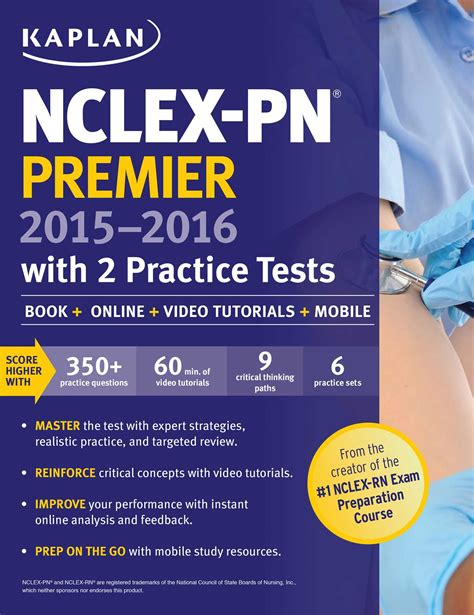 online tutorial for nclex examinations nclex pn premier 2015 2016 with 2 practice tests ebook by