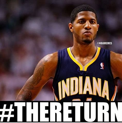 Paul George Memes - paul george leg injury
