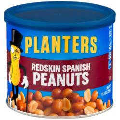 planters redskin peanuts 12 5 oz can