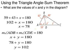 Sum Of Interior Angles Triangle Ppt 3 5 Parallel Lines And Triangles Powerpoint