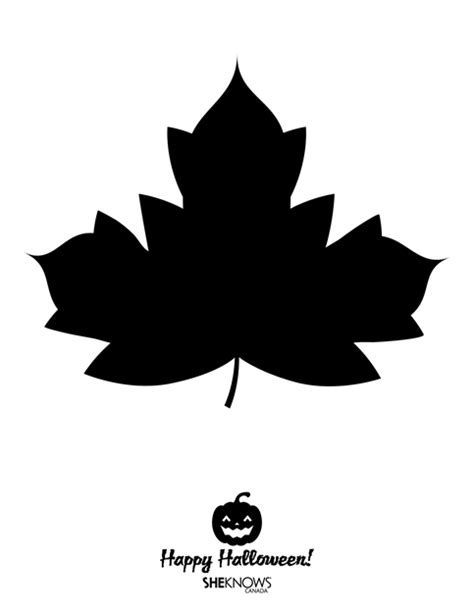 pumpkin leaf template gallery for gt pumpkin leaf stencil