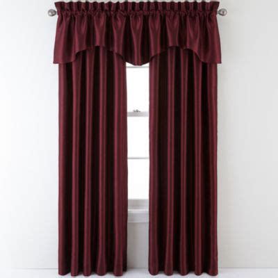 curtains sutton sutton place antique satin rod pocket curtain panel