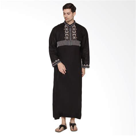 Arafah Harly Black Koko Arafah jual arafah ammar gamis pria black harga