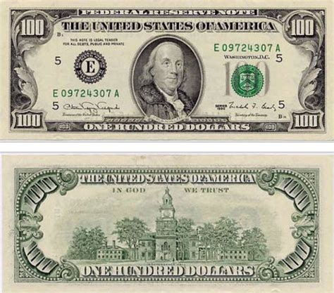 best photos of 100 dollar bill actual size templates 100