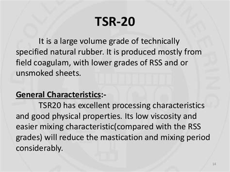 rubber st process technically specified rubbers tsrs