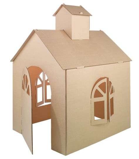how do you make a house cardboard house others pinterest
