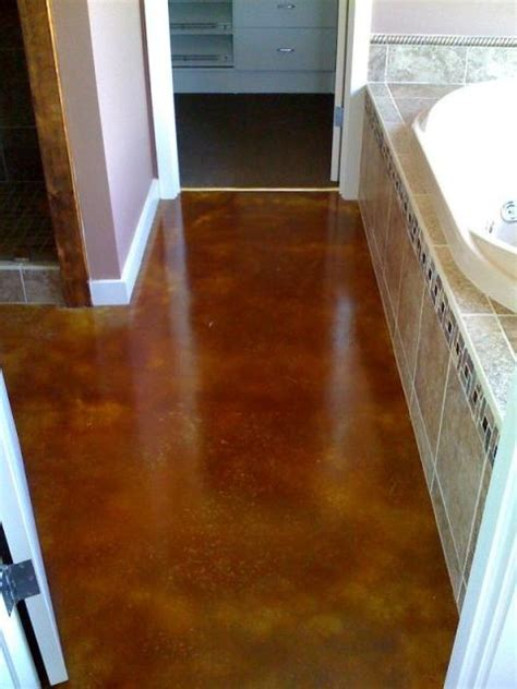stained concrete bathroom 17 best images about decorative concrete on pinterest