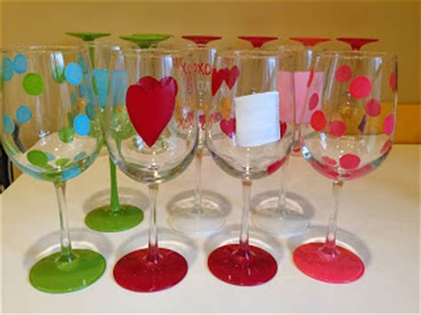 hand painted wine glasses  diy ideas guide patterns