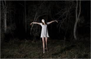 Man made creepywoods haunted forest woman creepy haunted forest dark