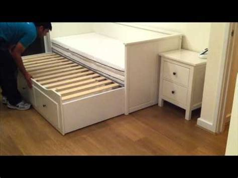 hemnes bed instructions ikea hemnes daybed assembly instructions how to make