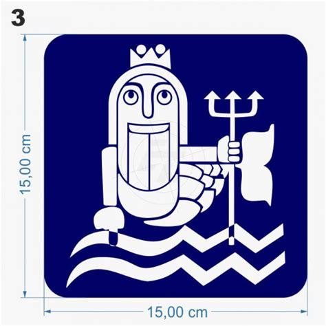 Folien Aufkleber Maritim wc aufkleber maritim neptun nixe