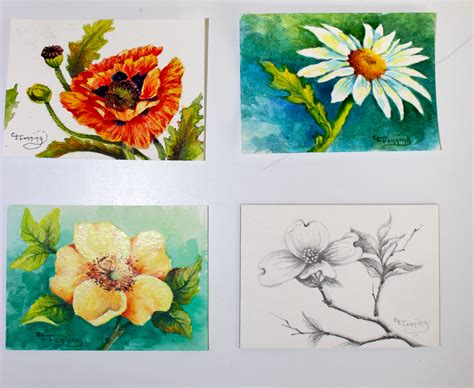 acrylic painting ideas flowers acrylic painting an artist s birthright