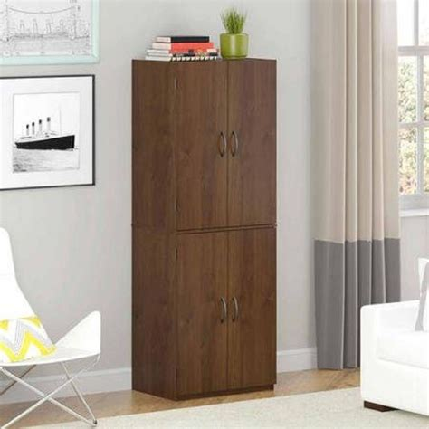 kitchen cabinet pantry cupboard brown organizer food deluxe 60 inch kitchen storage pantry cabinet cupboard 2