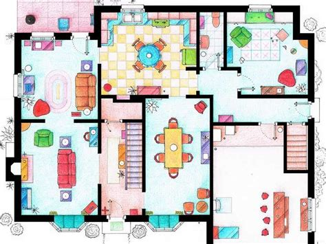 floor plans of tv show houses floor plans of homes from tv shows business insider