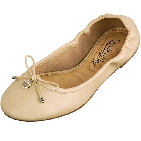 comfort womens dress shoes womens ballet flats slip on ballerina slippers casual