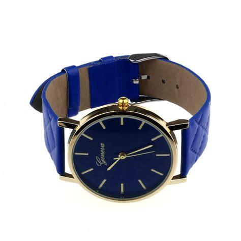 Jam Tangan Geneva Wanita jam tangan wanita fashion korea geneva tali besar elevenia