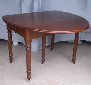 Furniture gt dining tables gt antique walnut drop leaf kitchen dining