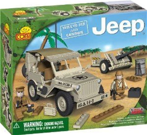 Cobi Mobile Launcher cobi small army jeep willy s m38 historical replica with