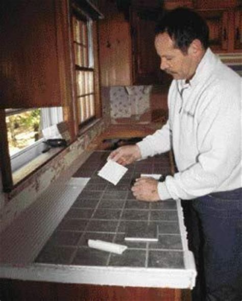 tile over laminate counter tops what an inexpensive way tiling over a laminate countertop jlc online finishes