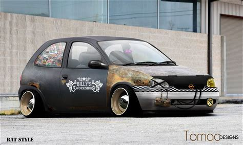Opel Corsa Rat Style Most Beautiful Cars