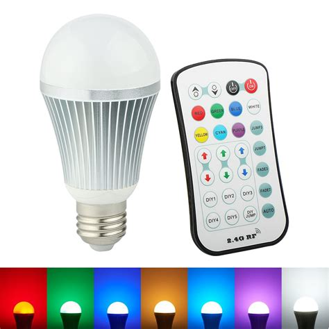 Wireless Led Light Bulbs Arilux 174 E27 9w Color Changing Led Globe Light Bulb With 2 4g Wireless Remote Controller Ac85