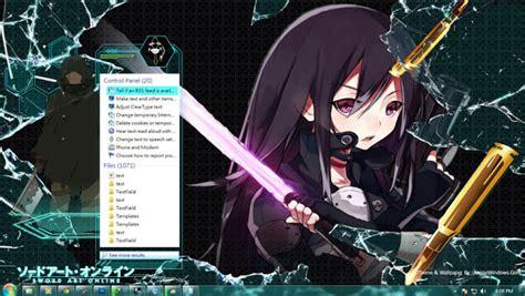 download theme windows 7 gun gale online theme anime windows your anime theme windows source