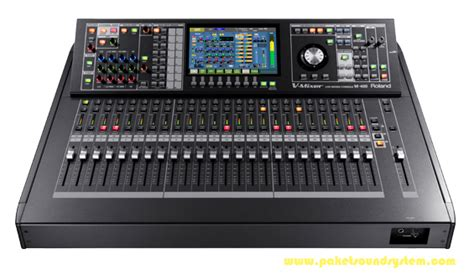 Mixer Audio Sound Sistem mixer audio digital roland m480 paket sound system profesional indonesia