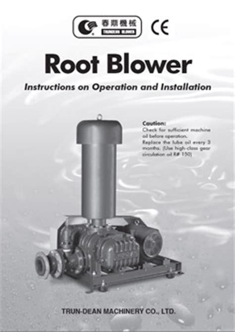 Akar Blower berbagai katalog brosur perusahaan th seies roots blower