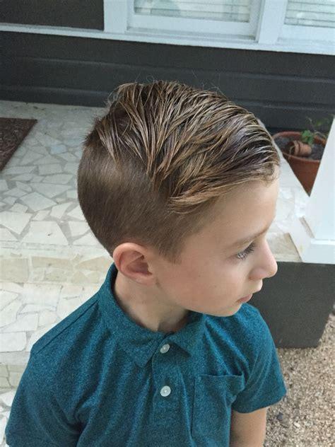 boy hair lakes undercut  years