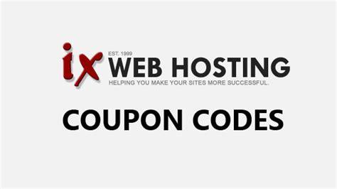 discount vouchers websites ix web hosting promo code web hosting coupon codes