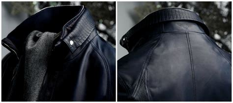 the bentley collection leather jacket brings luxury from