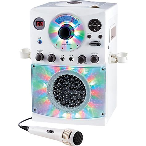 karaoke machine with lights the singing machine sml385bt bluetooth karaoke system with