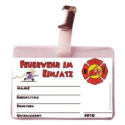 F R Kinder by Spielzeug Feuerwehrausweis F 252 R Kinder