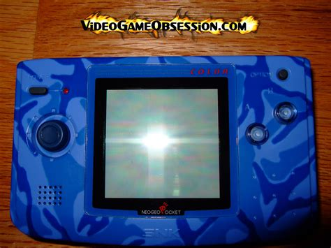 neo geo pocket color snk neo geo pocket color collection obsession