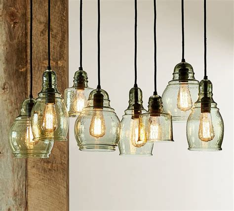 Paxton Glass 8 Light Pendant Tequestadrum Com