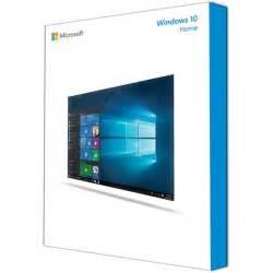 Windows 10 home retail packaging