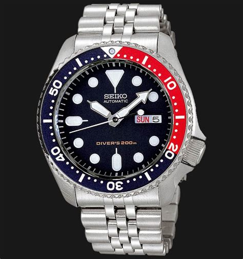 Jam Guess 831 seiko skx009k2 automatic diver 200m blue jamtangan