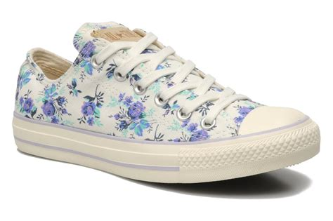Flowered Duvet Covers Chuck Taylor All Star Floral Print Ox W By Converse