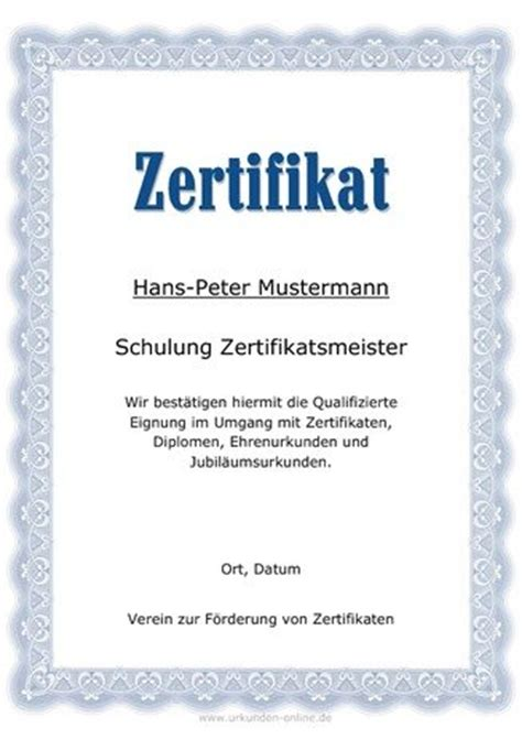 Vorlage Word Teilnahmebescheinigung Urkunden Generator Urkunden Und Mehr Erstellen Gestalten Und Drucken