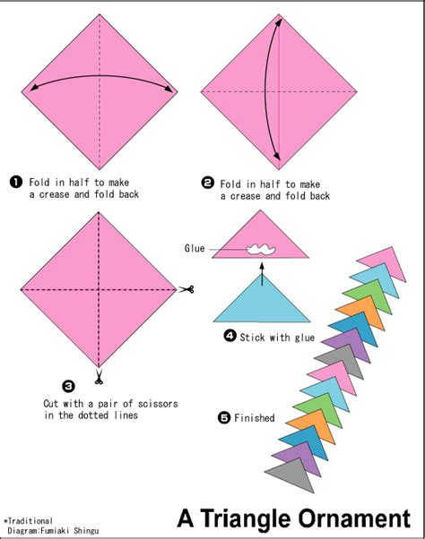 How To Make A Paper Sided - diy origami brooch