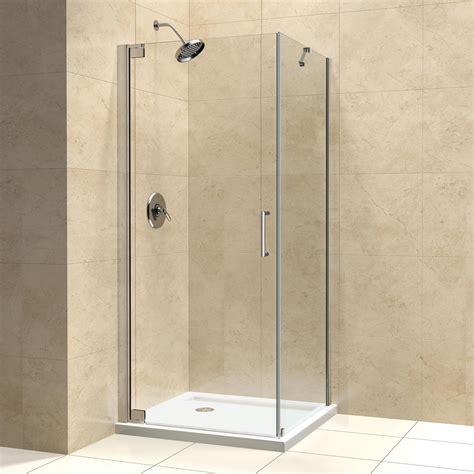 Dreamline Shen 413 Elegance Frameless Pivot Shower Dreamline Frameless Shower Doors