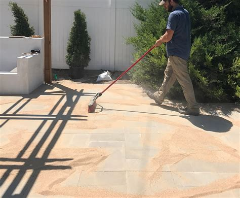 how to put in a paver patio how to install a custom paver patio room for tuesday