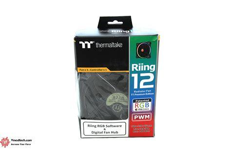 Thermaltake Riing 12 Rgb Radiator Fan Tt Premium 3pack หน าท 1 thermaltake riing 12 rgb radiator fan tt