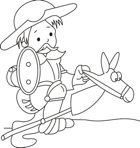 dibujos infantiles para colorear don quijote pics for gt don quijote dela mancha para colorear