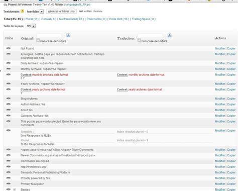 traduction du mot pattern en français traduire th 232 me wordpress en fran 231 ais avec codestyling