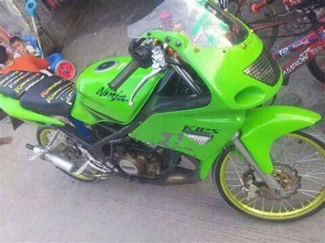 7 gambar modifikasi motor rr 150 cc 2 tak warna hijau minimalis gtx concept