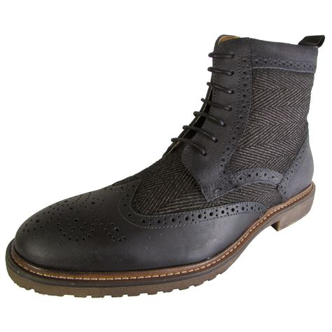 oxford boots steve madden mens siftt oxford ankle boot shoes ebay