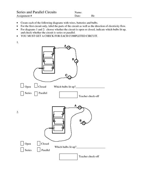 circuits in parallel and series worksheet 12 best images of series parallel circuit worksheet series and parallel circuits worksheets