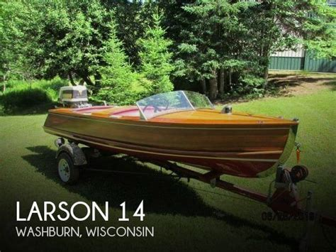 larson boats wisconsin canceled larson 14 boat in washburn wi 111256