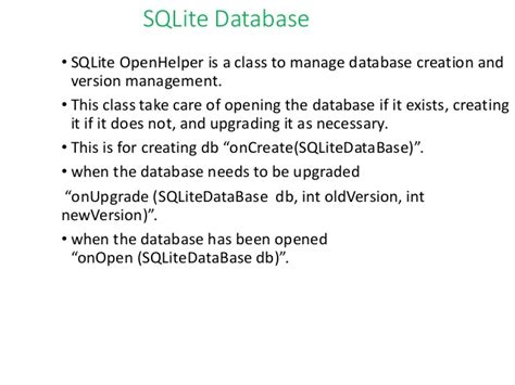 Sqlite Drop Table If Exists by Android Data Storagefinal